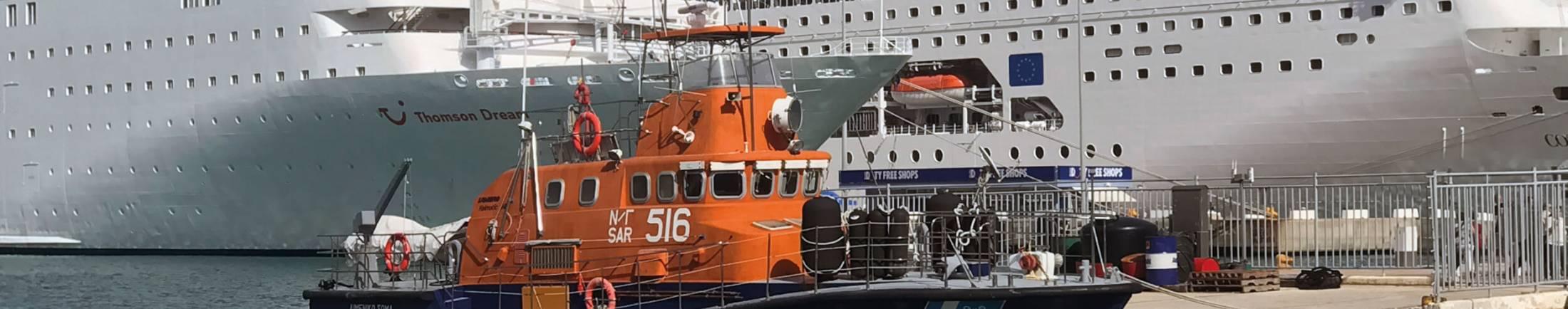 Crewtender en loodsboot header