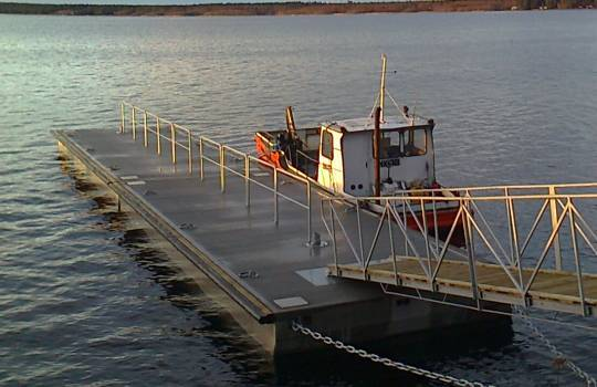 Fendertec marine fendering - Rubber Delta fender