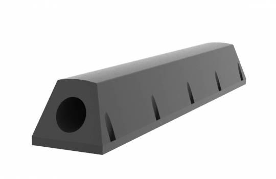 Fendertec marine fendering - Tugboat rubber fender  - Trapezium with steel insert