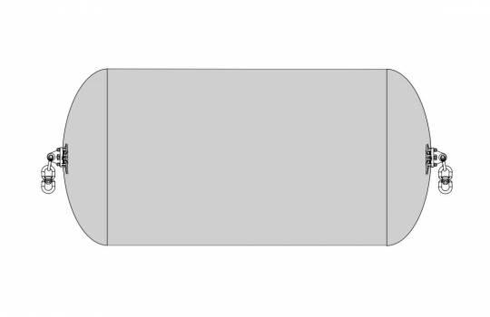 Fendertec marine fendering - Pneumatic fender sling